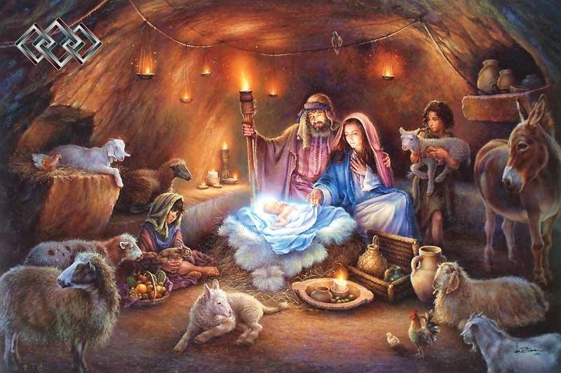 С днем рождения иисус картинки, фон