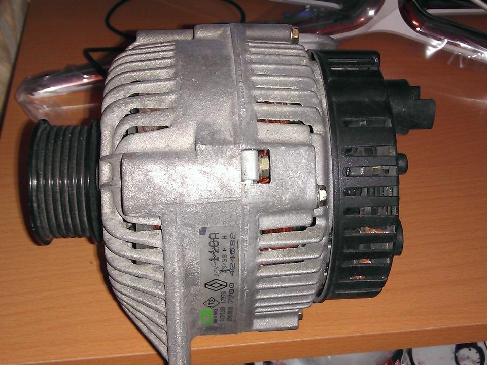 генератор 110а renault 7 700 424 582