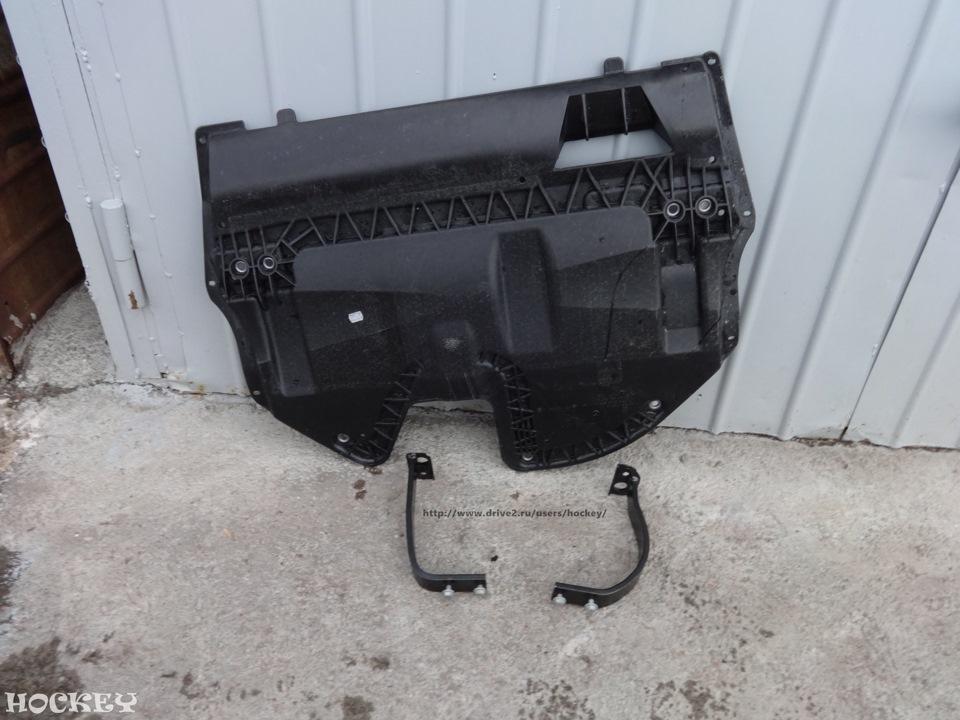 защита двигателя volkswagen polo родная
