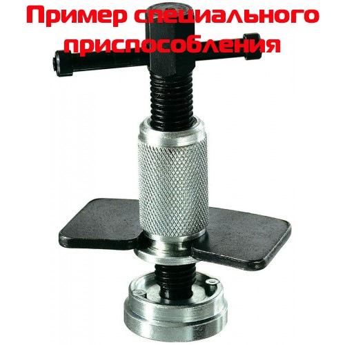 Для сжатия тормозных цилиндров