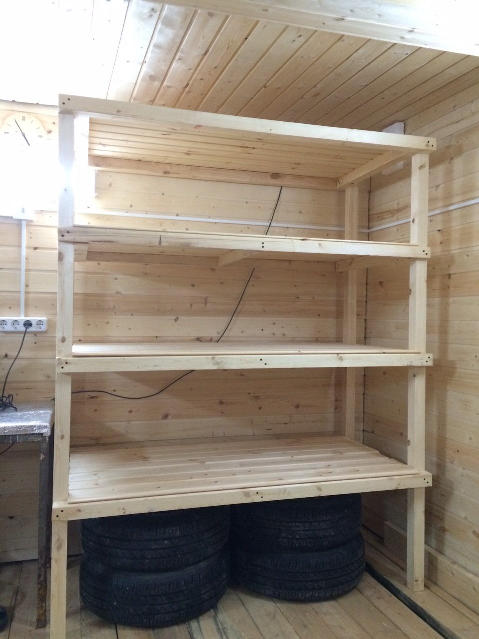 Шкаф из деревянных брусков своими руками