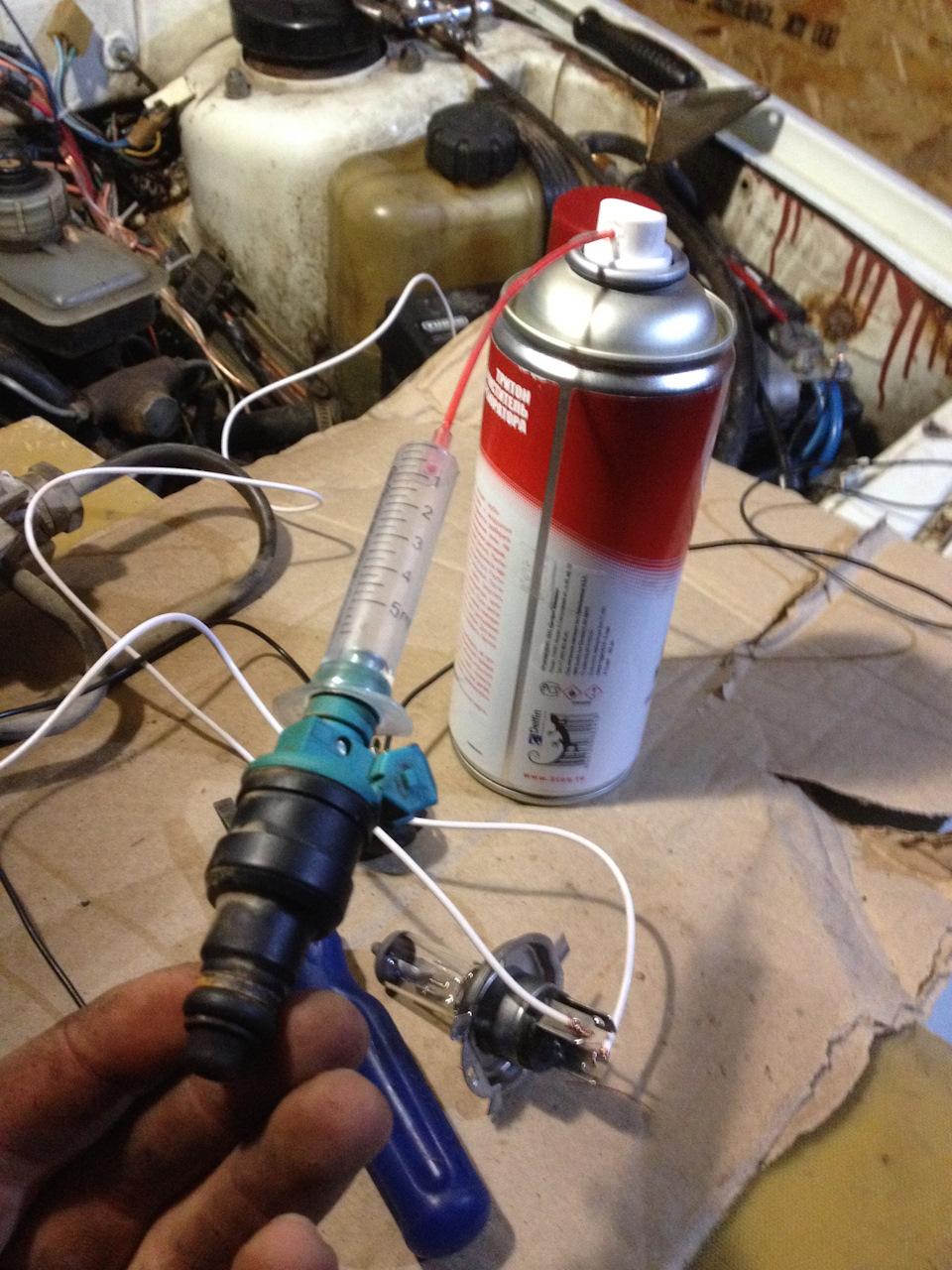 Промывка инжектора без снятия своими руками 85