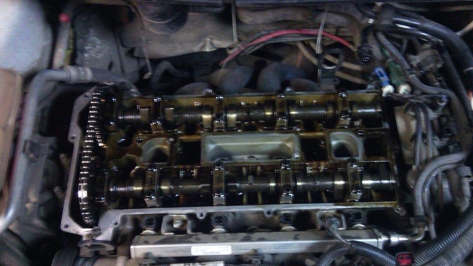 Замена маслосъемных колпачков форд фокус 2 двигатель 20 своими руками 30