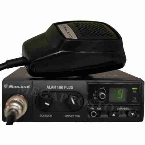 Alan 100 Plus.  Перейти к. антенны врезные Alan. антенны базовые Alan. антенны на магните Alan. крепления для антенн...