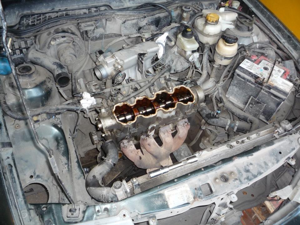 Капремонт двигателя дэу нексия своими руками 94
