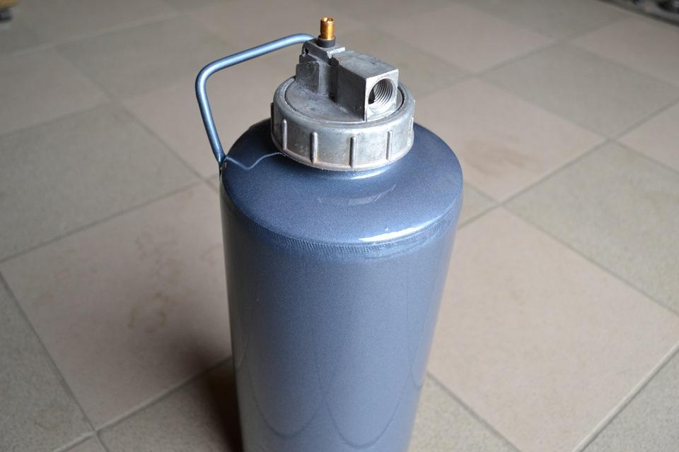 Пеногенератор для мойки из огнетушителя