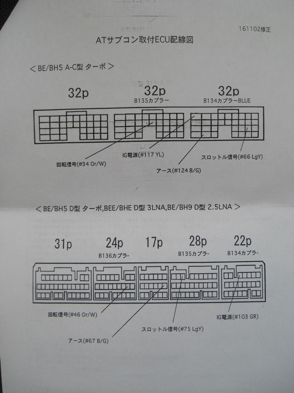 Subaru Ecu Pinout