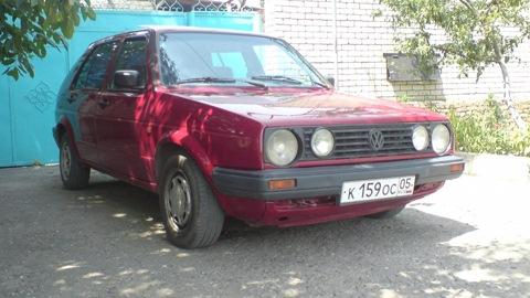 16. Бортовой журнал.  На сайте полтора года.  Volkswagen Golf Digifant.  Драйв.  Овердрайв.