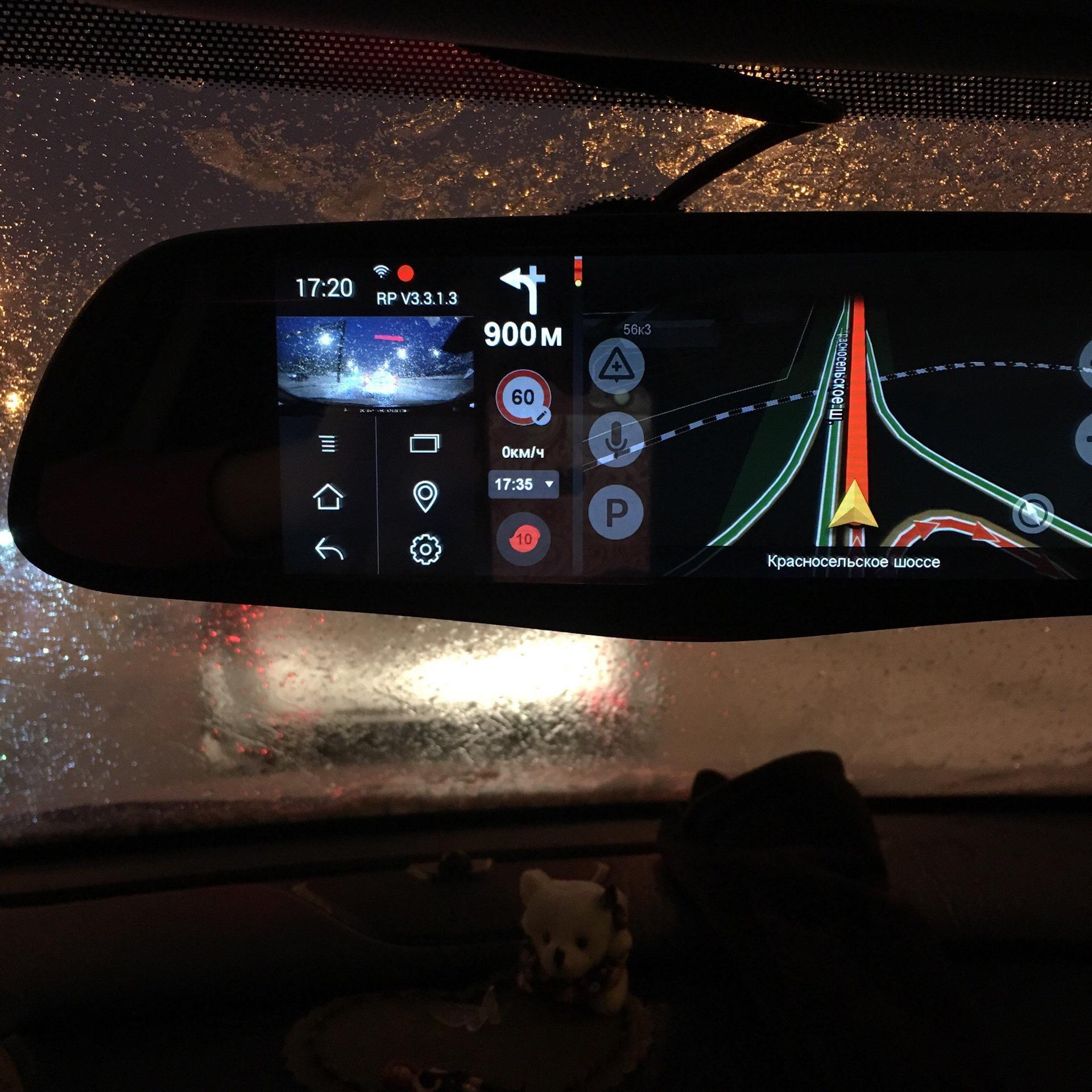 Зеркало заднего вида с монитором регистратором redpower amd65 android автомобильные видеорегистраторы 2013