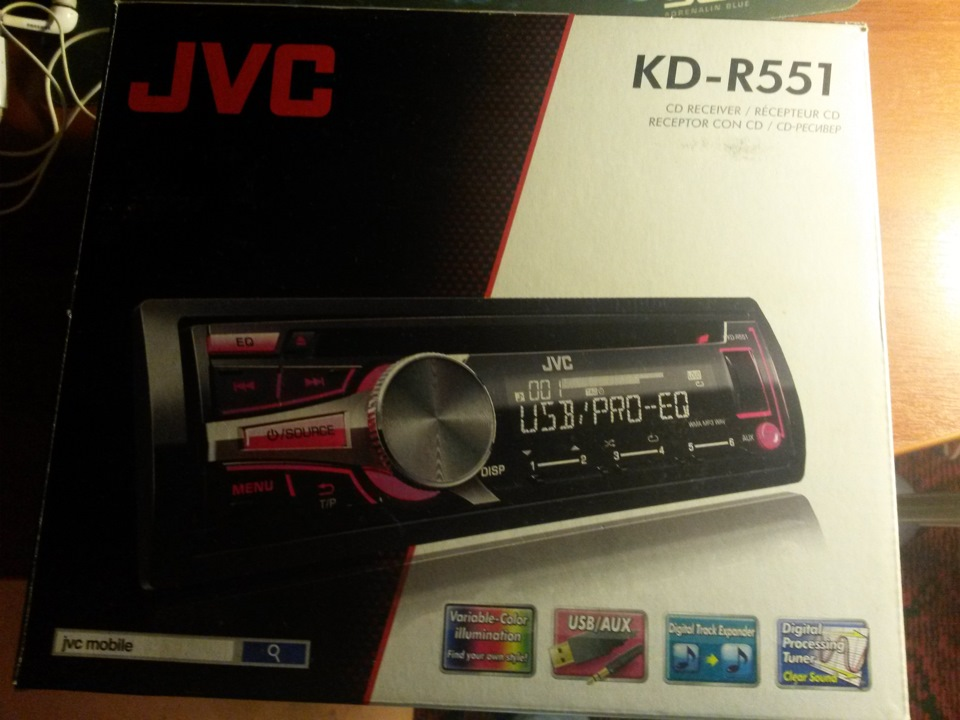 JVC KD-R551 Receiver Drivers Mac