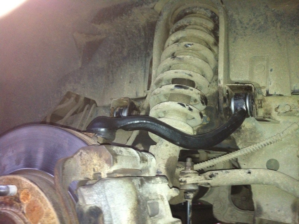 Замена рулевой трапеции аутлендер 3