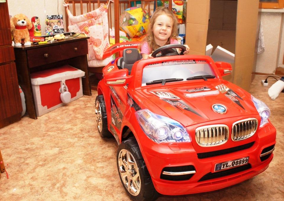 ребенка в новой машине
