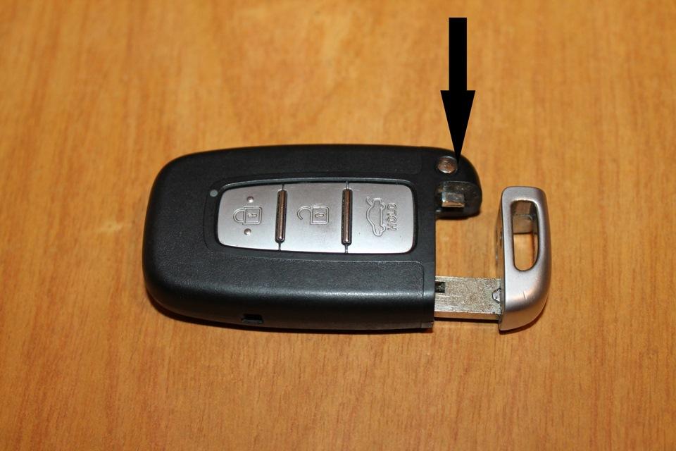как заменить батарейку в ключе киа церато