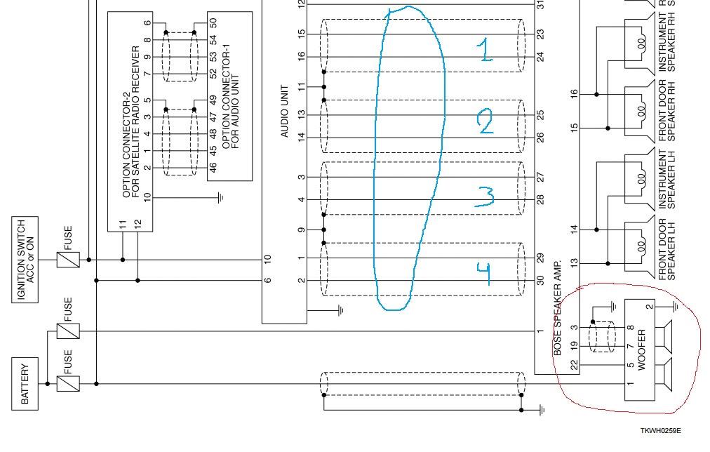 Как подключить сабвуфер с одной и двумя катушками к усилителю