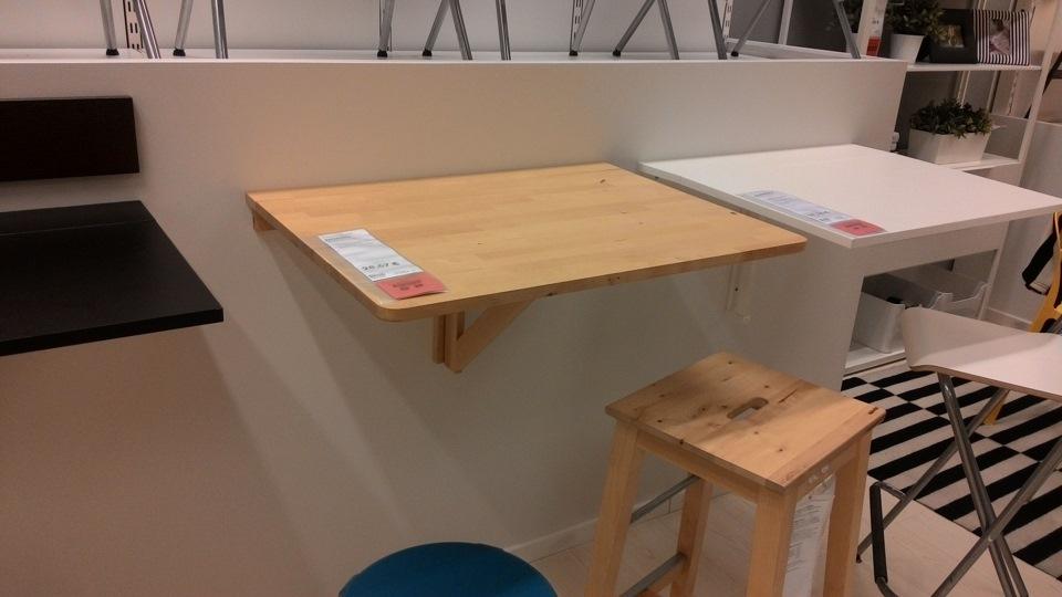Икеа откидной стол.