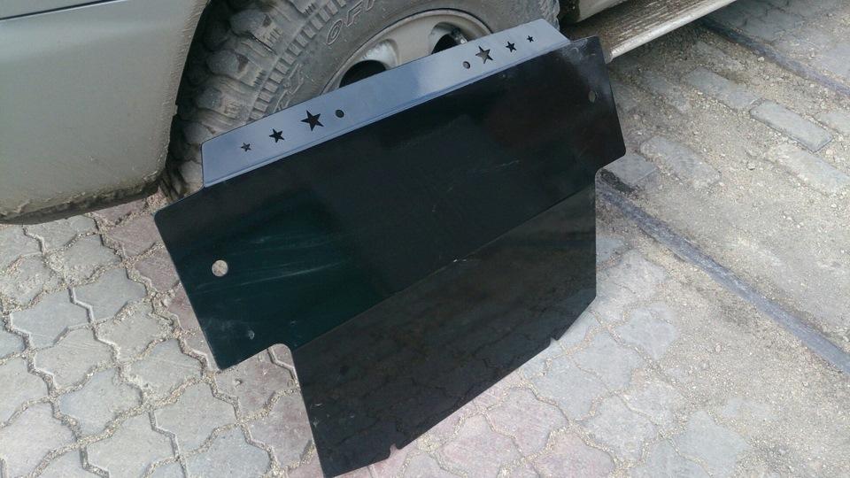 установка защиты двигателя митсубиси паджеро ио