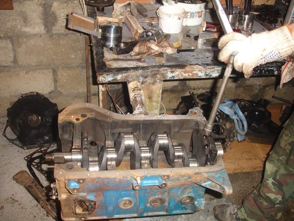 Ваз 2106 капремонт двигателя своими руками 63