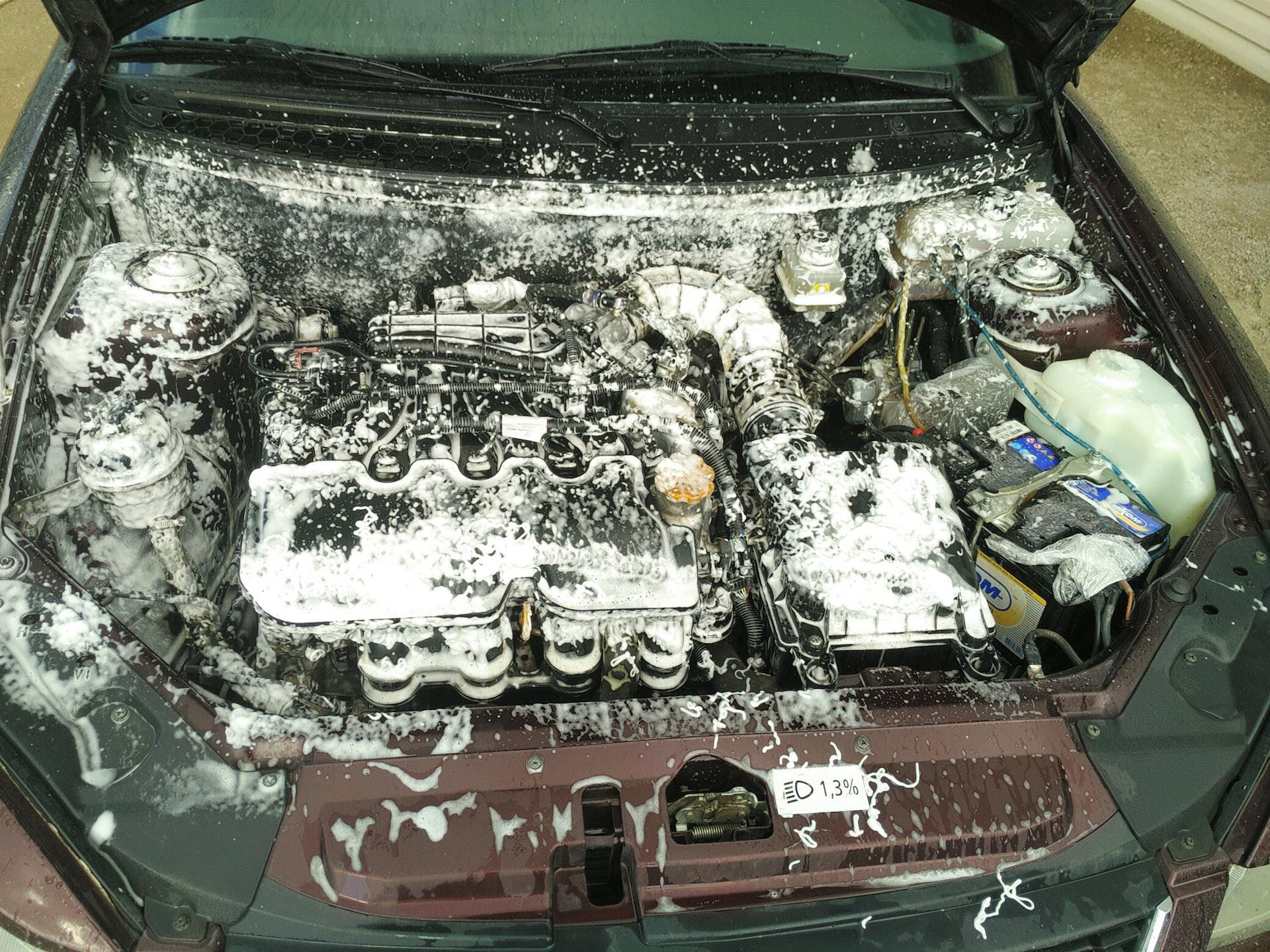Мойка двигателя приоры своими руками 46