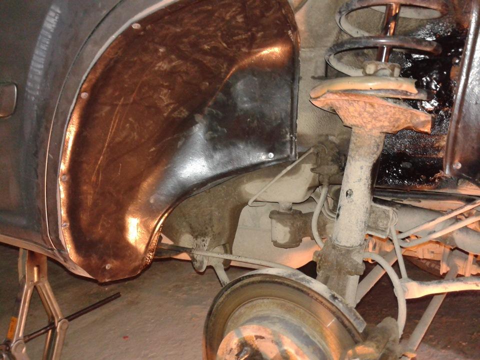 хлрейл т30 ремонт колесных арок Шевроле