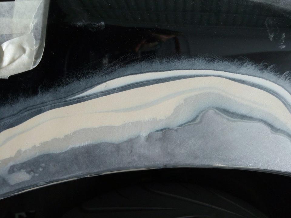 Покрска крыла субару Покраска крыла форд s max