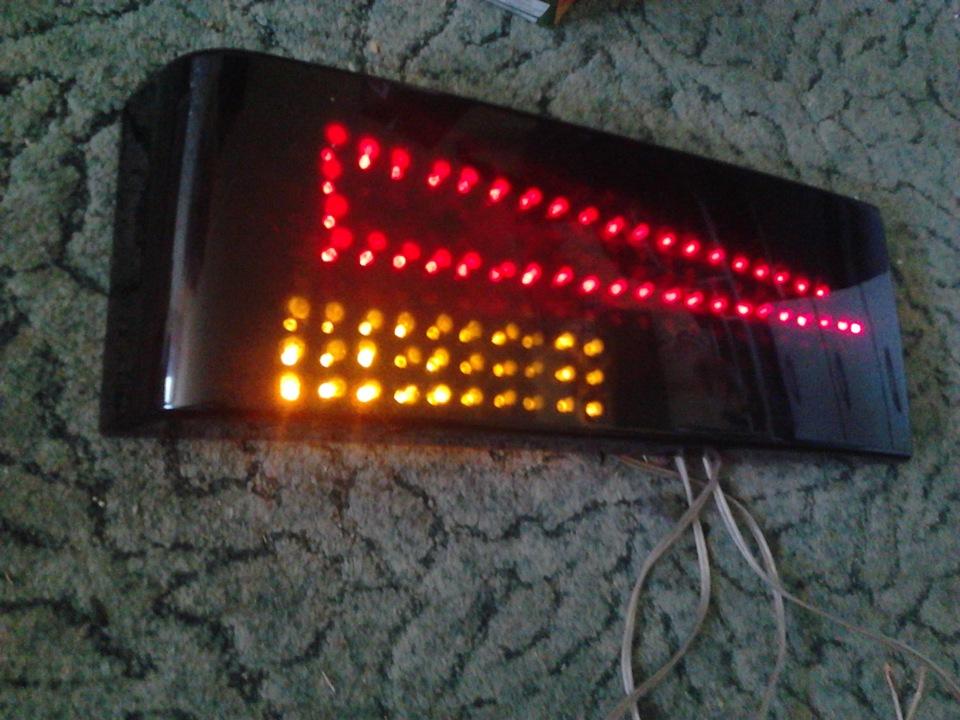 Как сделать светодиодные задние фонари своими руками