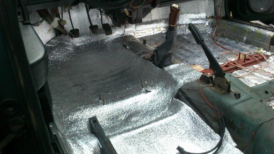 Багажника универсал шумоизоляция приоры