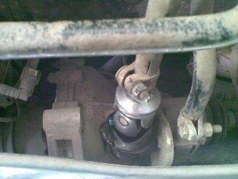 Фото №2 - замена шарнира привода кпп ВАЗ 2110