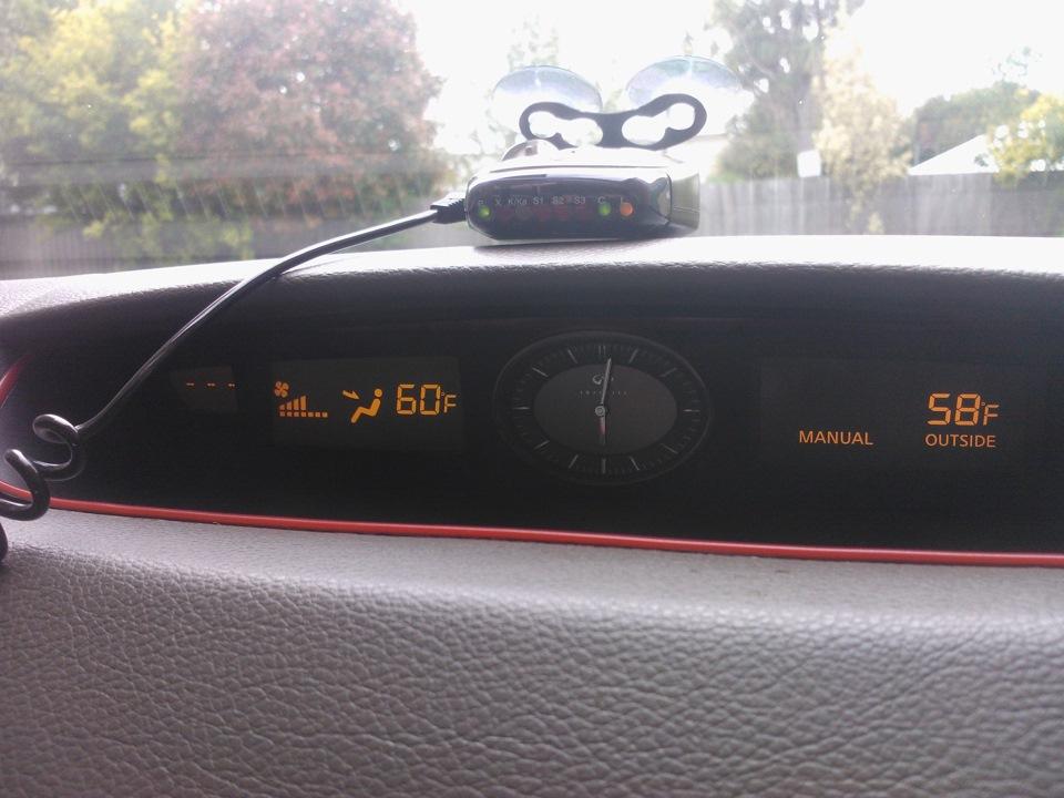 Infiniti G35 Dash Clock — logbook Nissan Stagea 2004 on DRIVE2