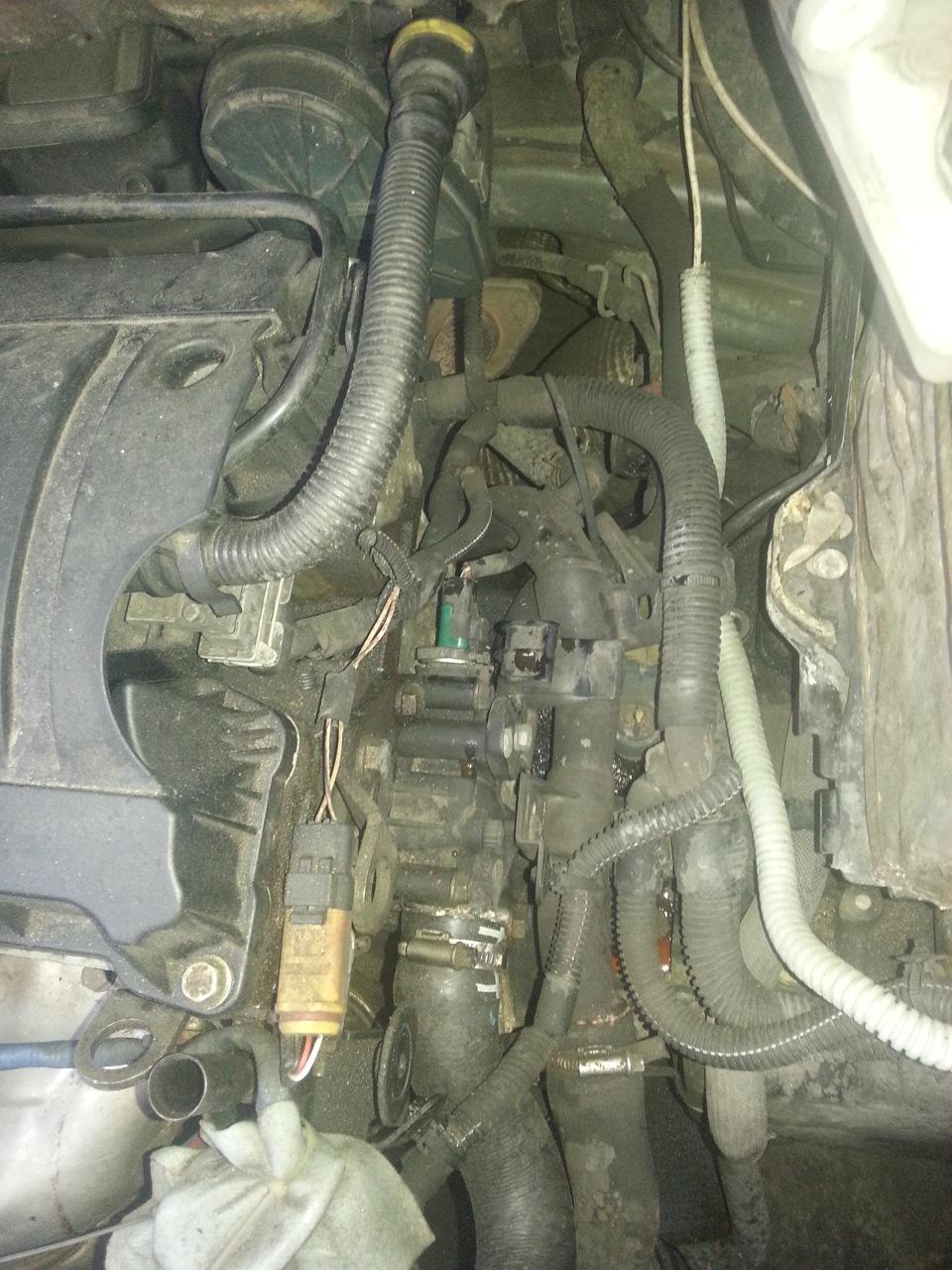 citroen c4 sedan датчик температуры двигателя