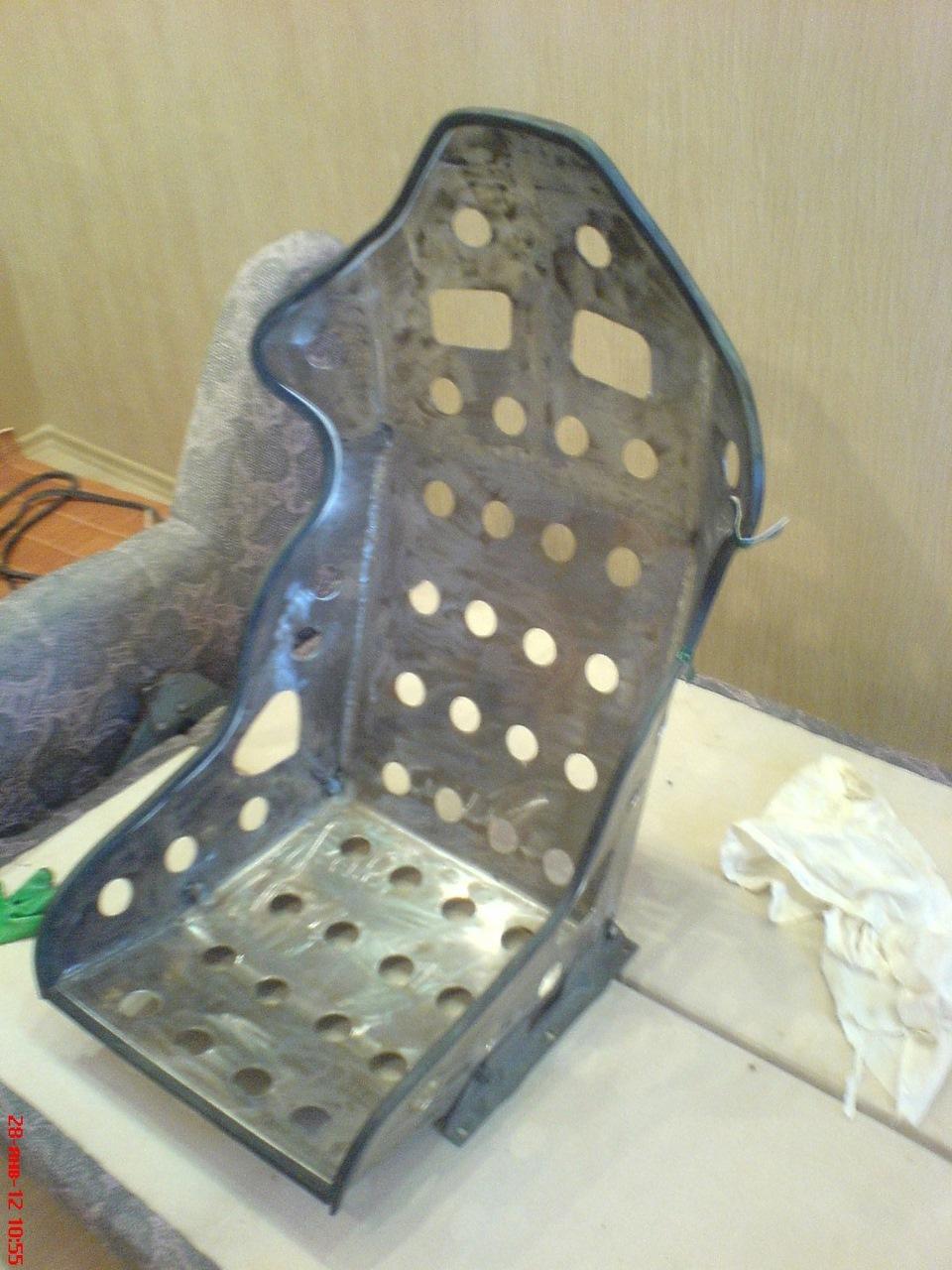 Изготовление сидений для авто своими руками