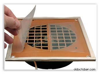 Вентиляция обратный клапан своими руками