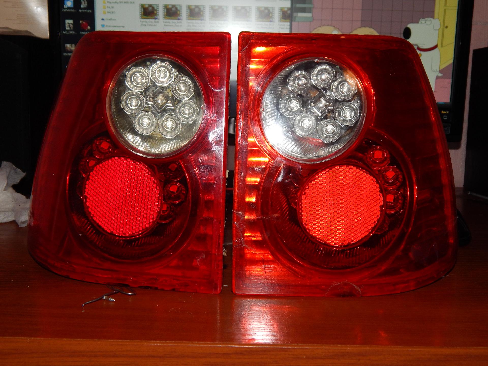 Задние led фонари чери амулет демонтаж гбц чери амулет