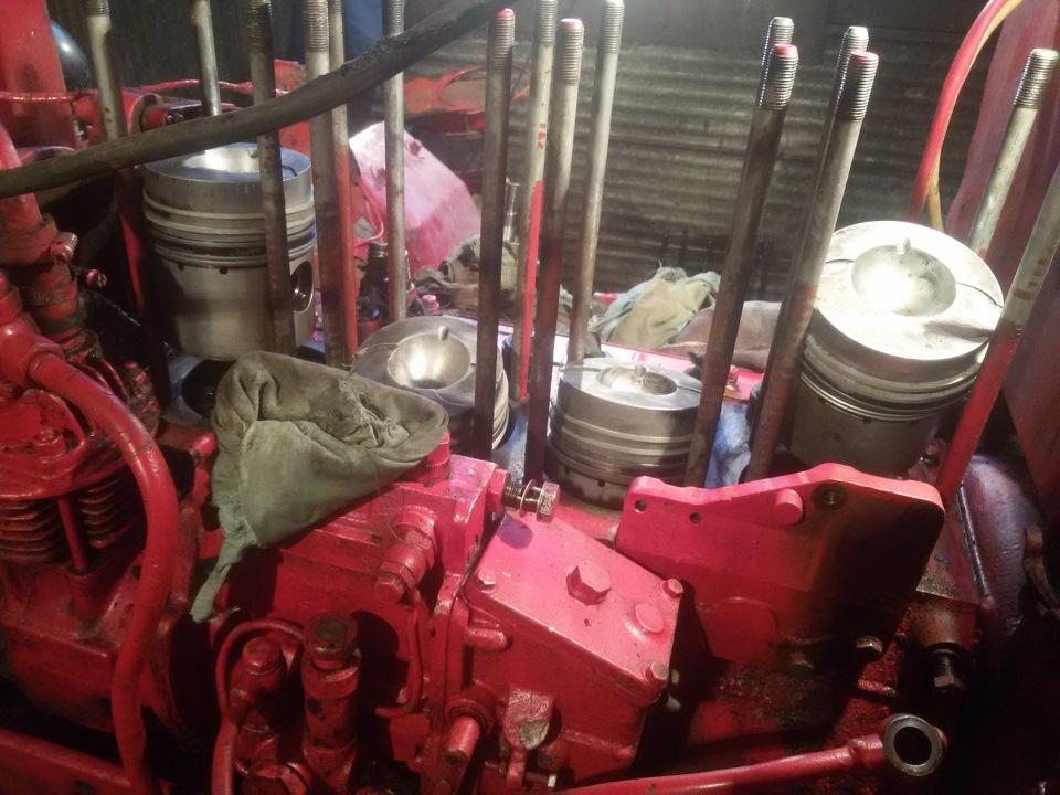 Замена поршневых колец трактора Т40 - DRIVE2