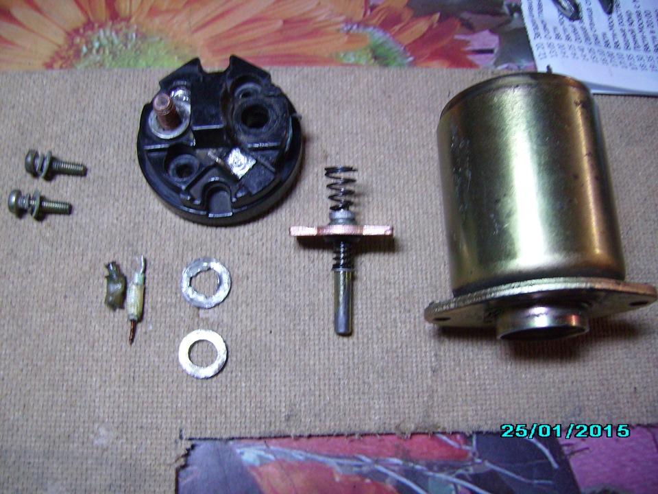 Фото №24 - устройство втягивающего реле стартера ВАЗ 2110
