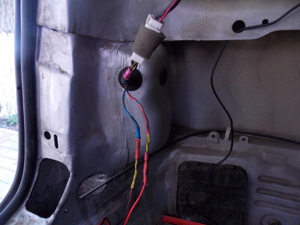 Парктроник установка лачетти своими руками 90