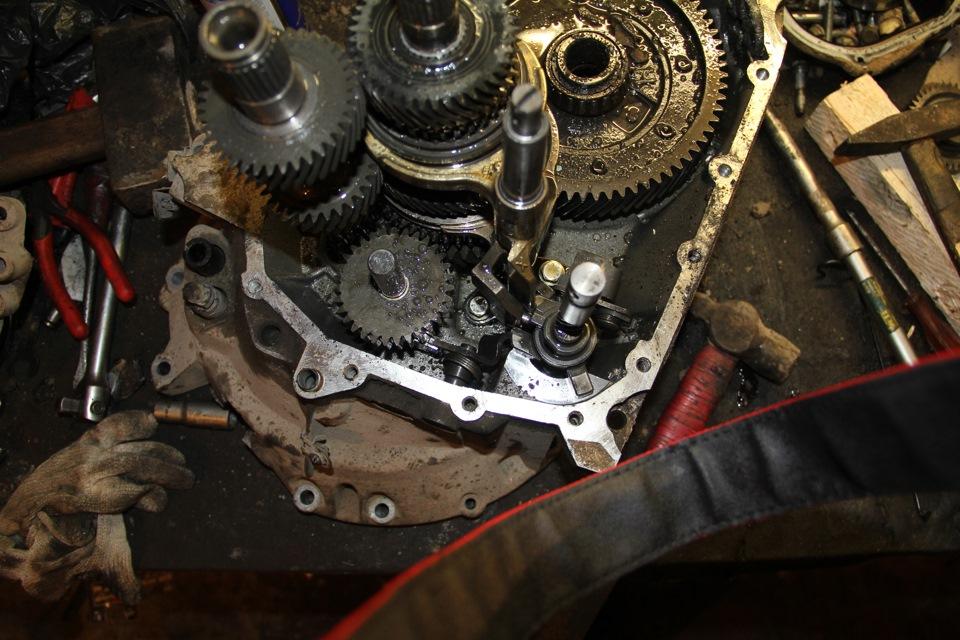 Фото №8 - ремонт кпп ВАЗ 2110 своими руками