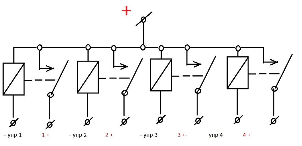 Схема реле СтарЛайн