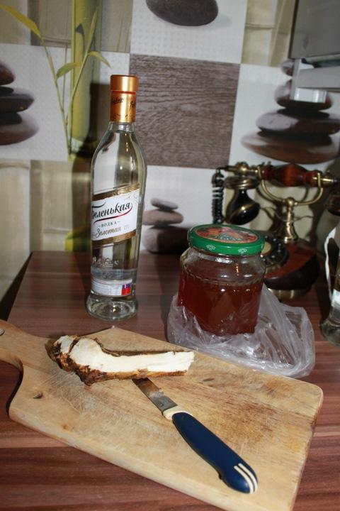 хреновина рецепт приготовления на спирту