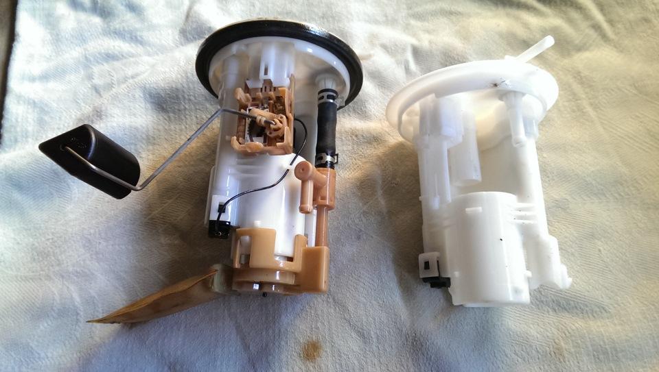Мицубиси грандис замена топливного фильтра