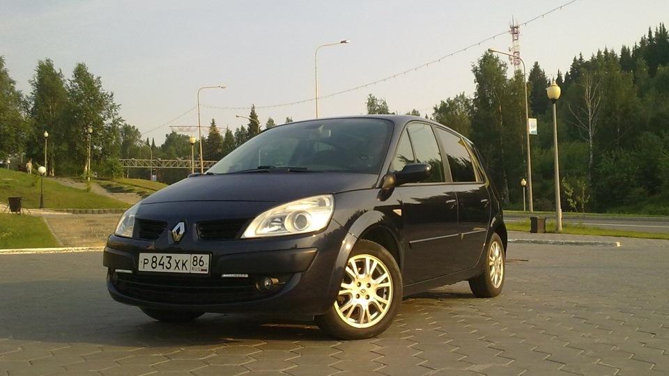 "Renault Scenic 2 или просто ""Сенька"" | DRIVE2: http://www.drive2.ru/r/renault/288230376151931445/"