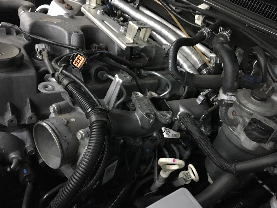 Ошибка P2413 Mitsubishi L200