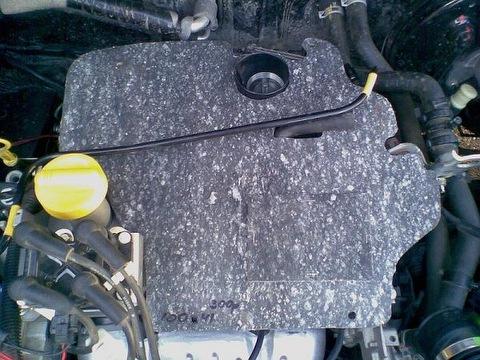 Термоэкран воздушного фильтра