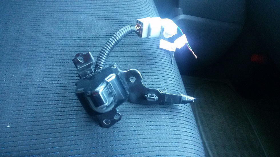 камера переднего вида toyota wish