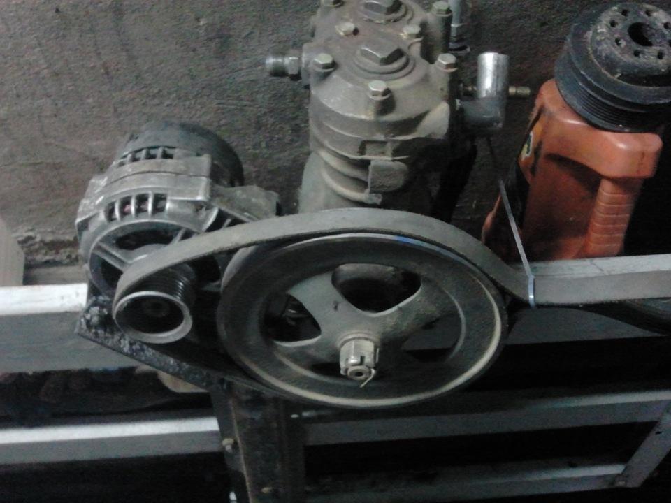 Бензогенератор из двигателя ваз