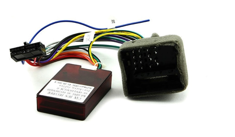 Can-адаптер к магнитоле своими руками 17