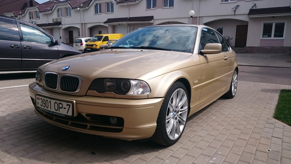 bmw 3 series coupe e46 325ci gold drive2. Black Bedroom Furniture Sets. Home Design Ideas