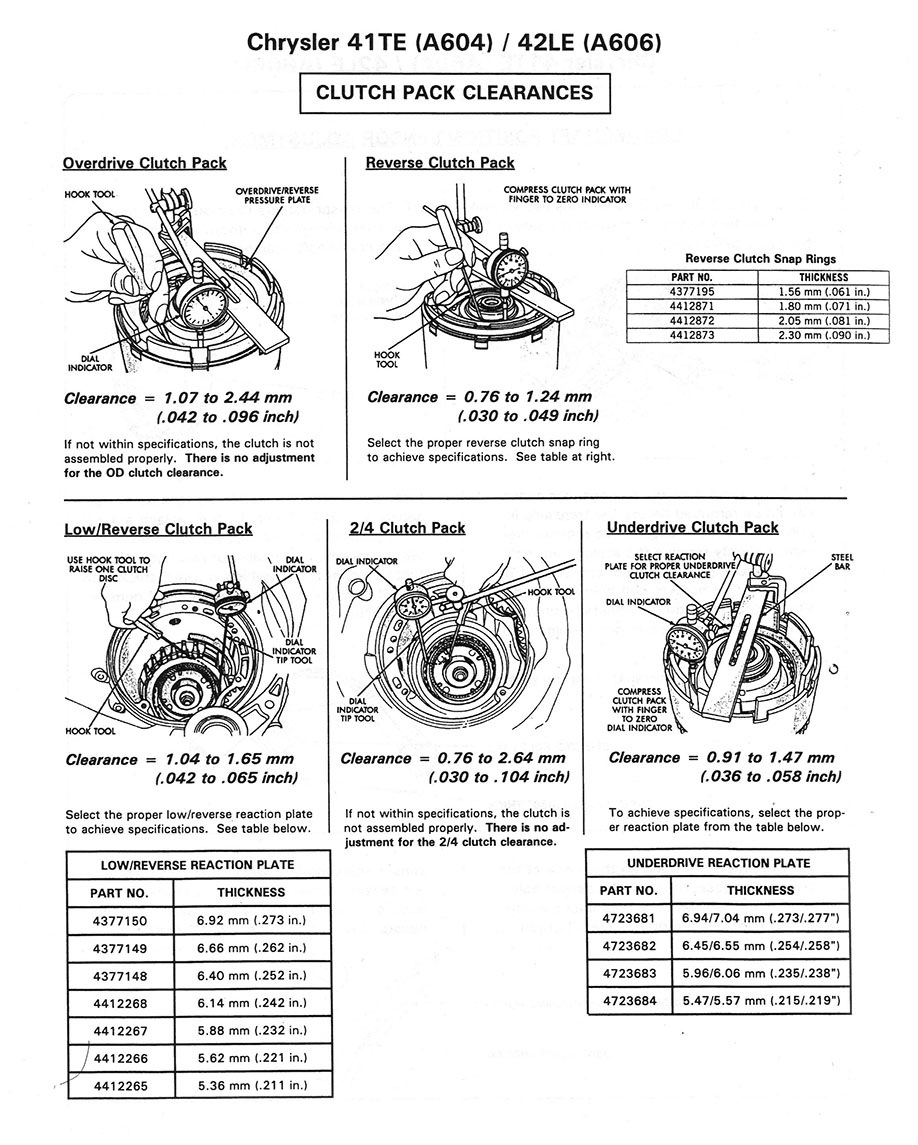 automatic transmission chrysler a604 40te 41te logbook chrysler rh drive2 com A604 41TE Rebuilt Transmission 41TE Components