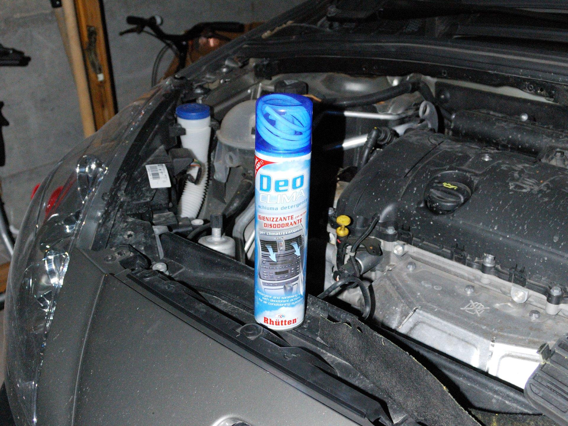 пежо 308 кондиционер пахнет холодильником самим сделать БСО