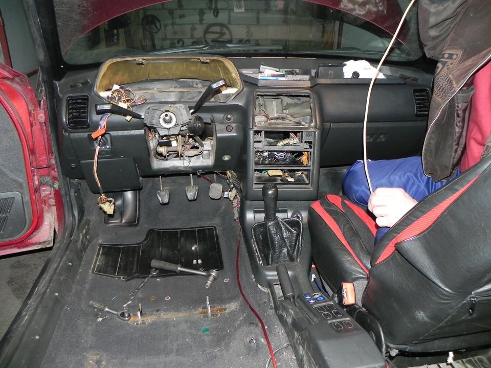 Фото №27 - ВАЗ 2110 устройство панели