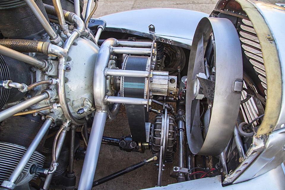 P.A.R.T. — пикап Plymouth 1939 года с радиальным двигателем от самолета